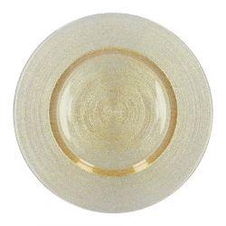 BLITS Talerz złoty 34 cm