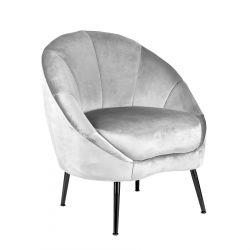 NEVOY Fotel szary 81x72x88 cm