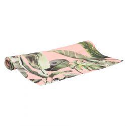 MUSA Bieżnik we wzór różowy 40x160 cm