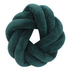 OJEDA Poduszka węzeł zielona 30 cm