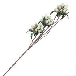 VIOLA Kwiat sztuczny jasnozielony 93 cm