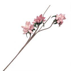 VIOLA Kwiat sztuczny różowy 93 cm
