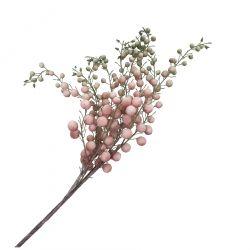 LUNARIA Kwiat sztuczny różowy 93 cm