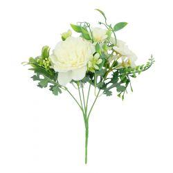 ROSY Bukiet sztuczny biały 26 cm