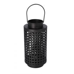 LIOR Lampion czarny 11x21 cm