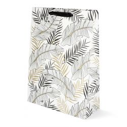 BAGS Torebka prezentowa Exotic Leaves 30x40x12 cm