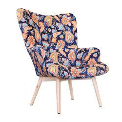 MOSS BOTANIC Fotel z motywem etnicznym 72x96 cm
