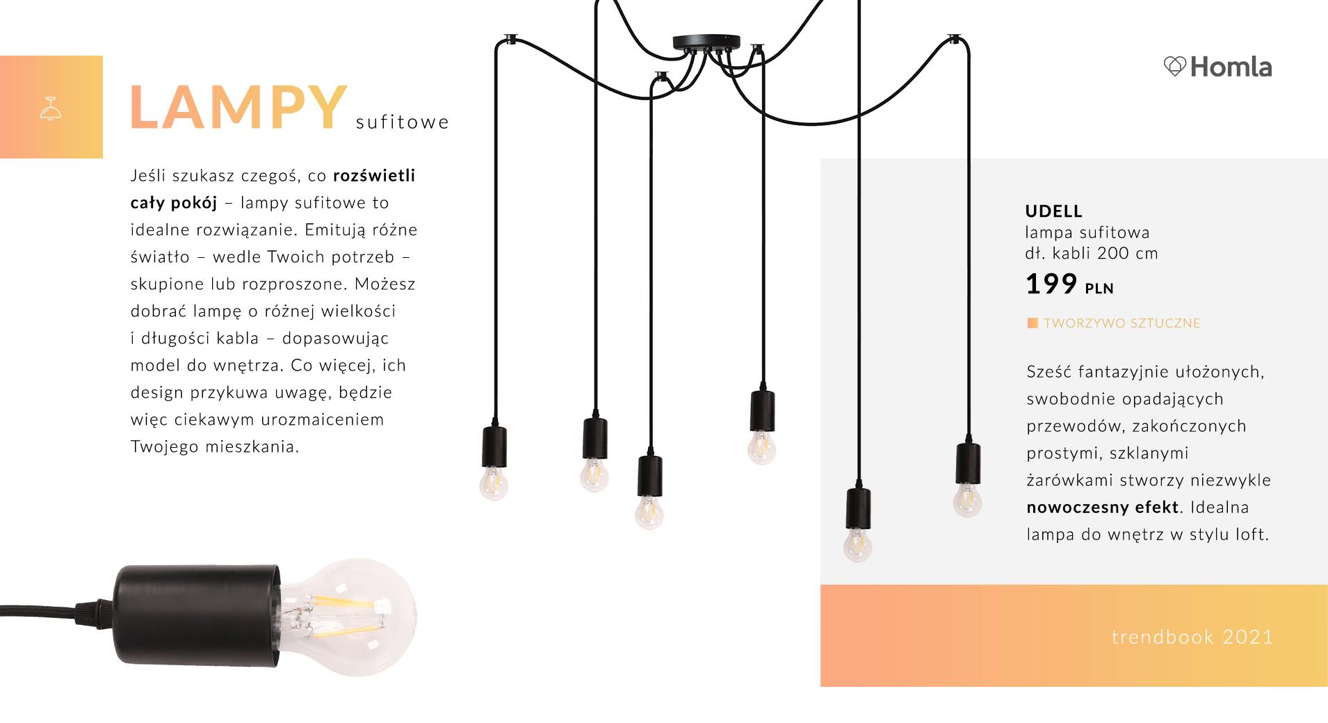 Trendbook Lampy do każdego wnętrza 7