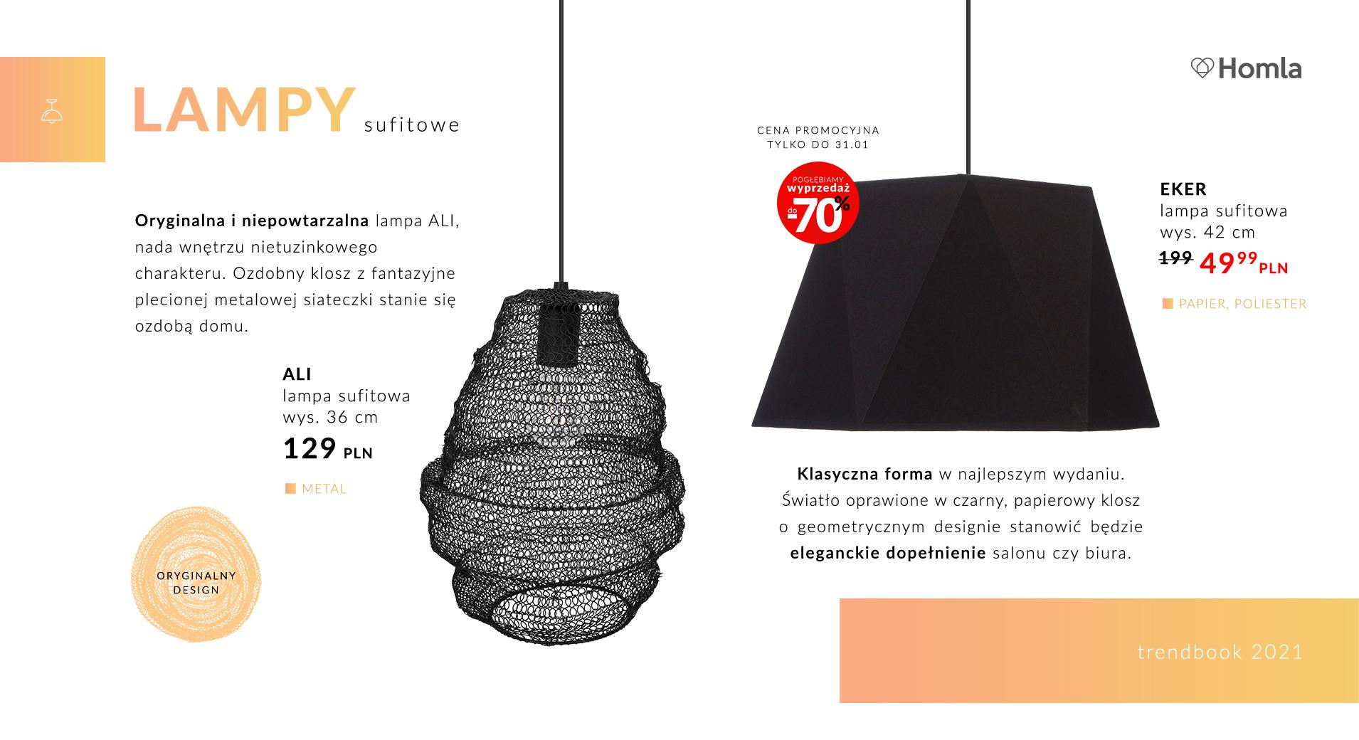 Trendbook Lampy do każdego wnętrza 9