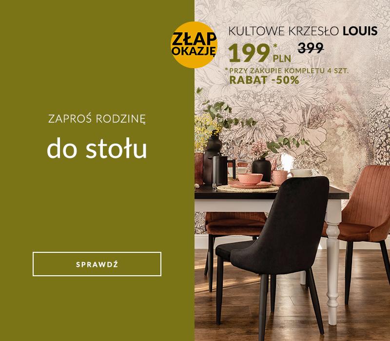 Krzesła Louis