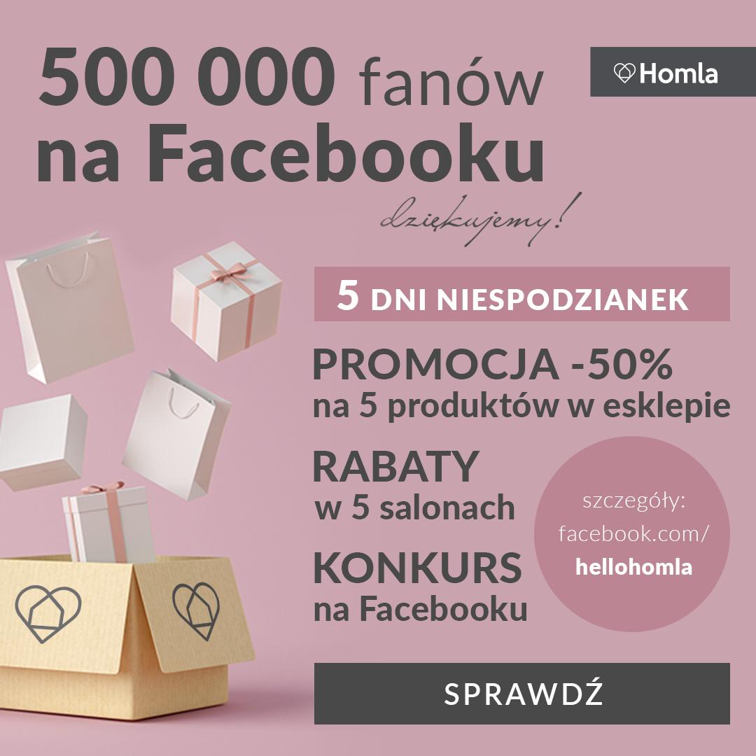 Świętujemy 500 tys fanów na FB