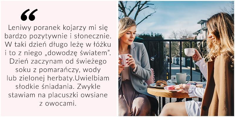 Leniwy poranek - Asia Dulczewska i Iwona Tederska
