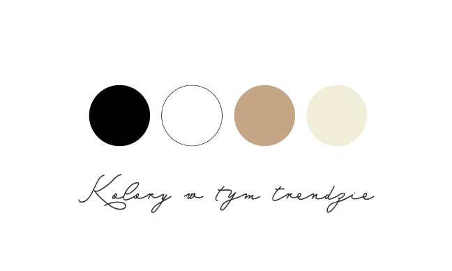 TREND ETNO - kolory obowiązujace w kolekcji