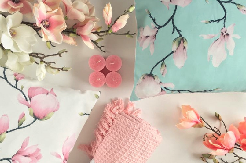 magnolia romantic - talerze