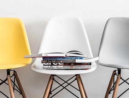 Tulum - skandynawskie krzesła