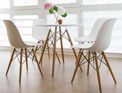 Skandynawski styl - krzesła i dodatki