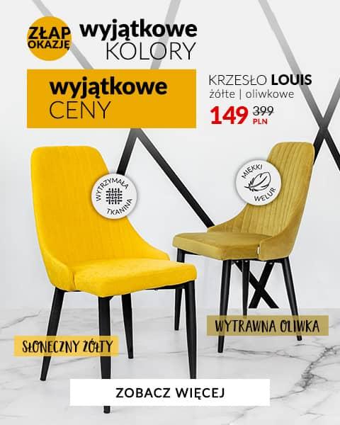 Louis Żółty i oliwkowy