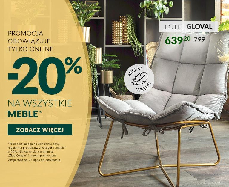 meble off 20%