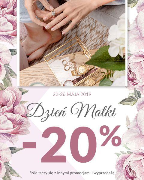 Rabat 20% na Dzień Matki