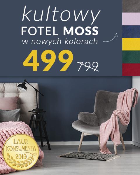 Kultowy fotel Moss