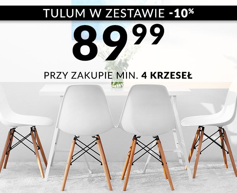 Krzesła TULUM za 89,99zł przy zakupie minimum 4szt.