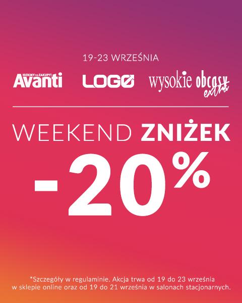 Weekend zniżek Avanti Logo Wysokie Obcasy 2019