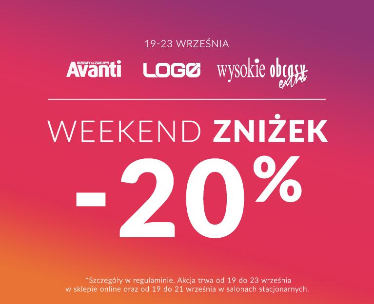 Weekend Zniżek Avanti Logo Wysokie Obsacy 2019