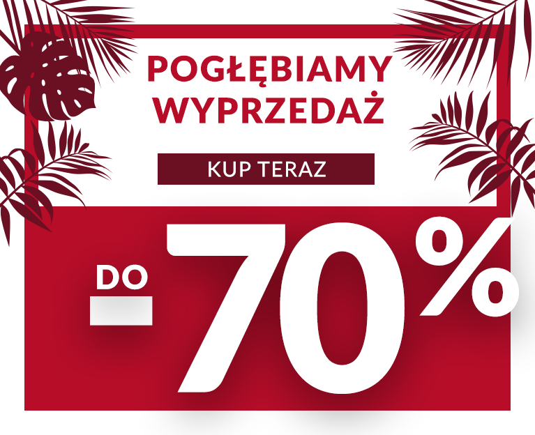 SALE do -70% HOMLA