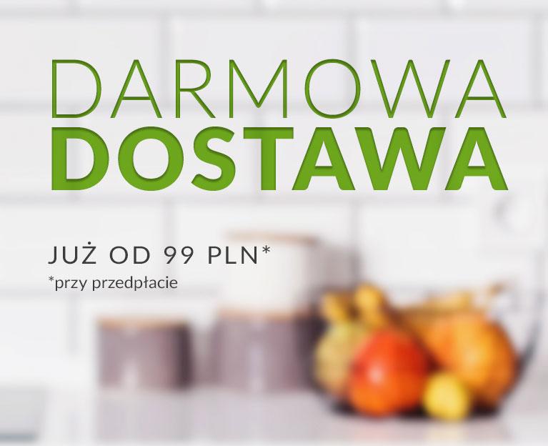 Darmowa dostawa od 99 PLN