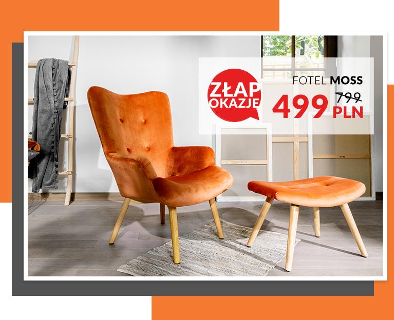 Kultowy fotel MOSS w nowym kolorze