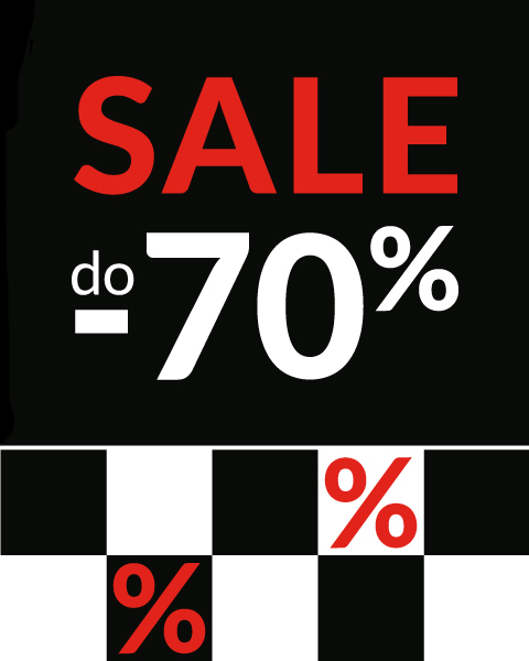 SALE do -70% 2019